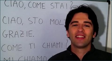 Recibe Vídeo Curso de Italiano 100% Gratis
